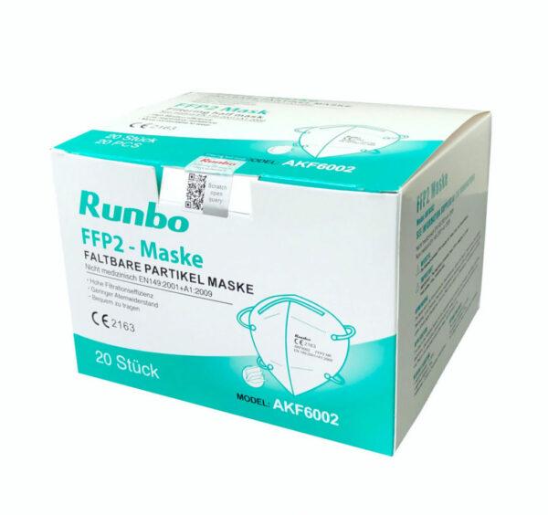 Runbo FFP2 Faltbare Partikel Maske