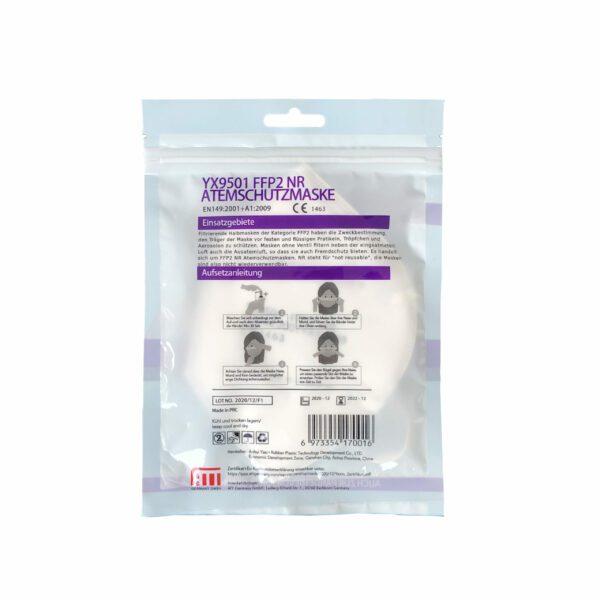 Yaxin FFP2 Atemschutzmaske